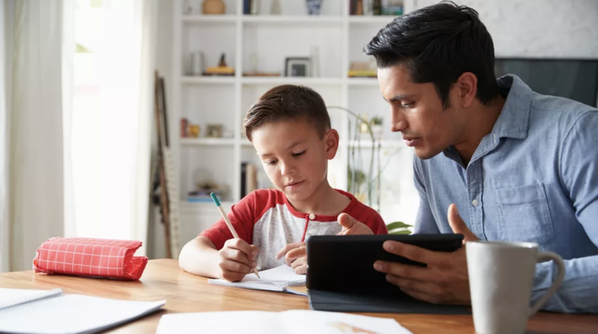 A Parent And Teacher Guide For Working From Home With Kids!