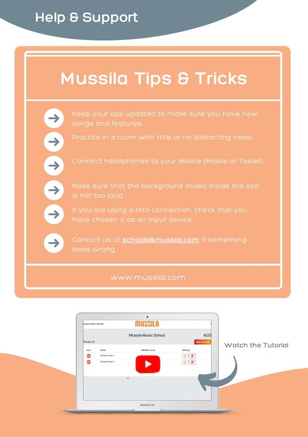 Mussila School User Manual