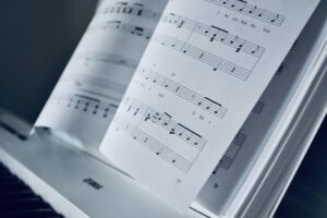The technicalities of learning sheet music