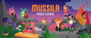 Mussila Music school graphic