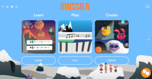 Mussila music school for kids