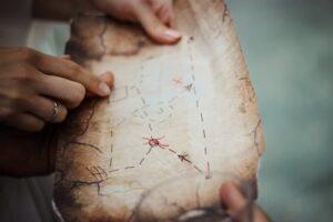 Music theory treasure hunts and activities