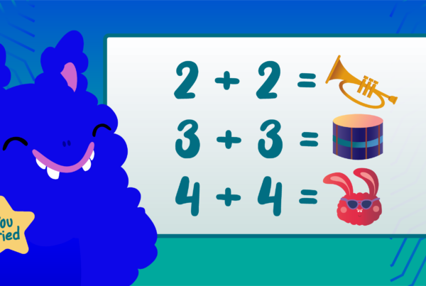 The Mussila monster learning maths